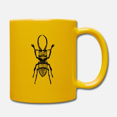 Stag Stag beetle - stag beetle - Full Colour Mug