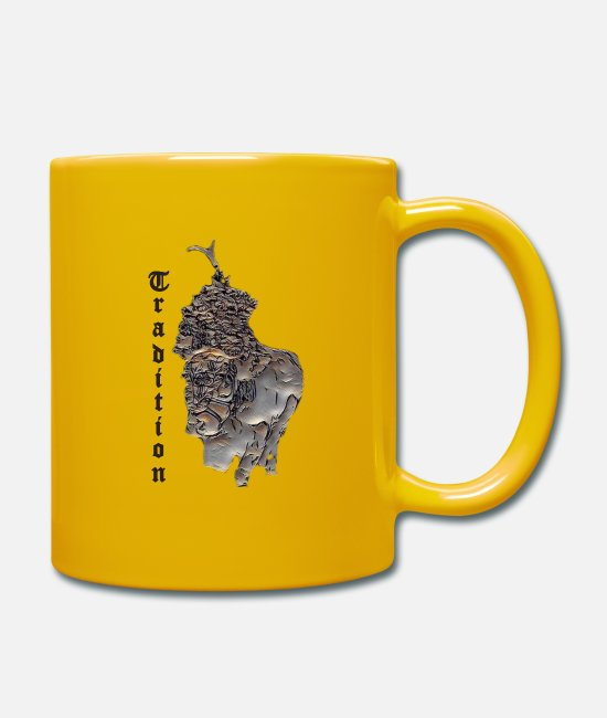 Mode (techn.) Mugs et tasses - tradition - Mug jaune soleil