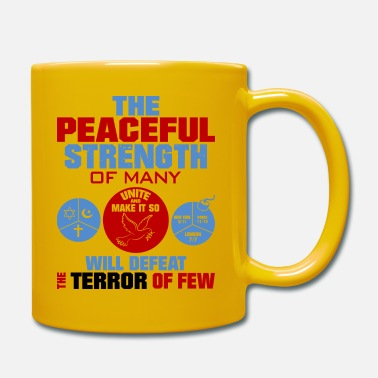 United against terrorism - Mug