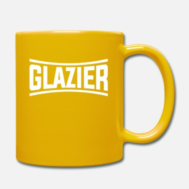 Diamond Artistic Glazier Graphic Design Glazier text - Mug