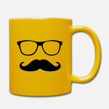 Schnäucher with glasses - Mug
