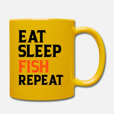 Stag Eat Sleep Fish Repeat - Mug