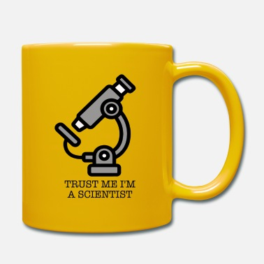 Microscope Microscope Trust me I'm a Scientist Science - Mug