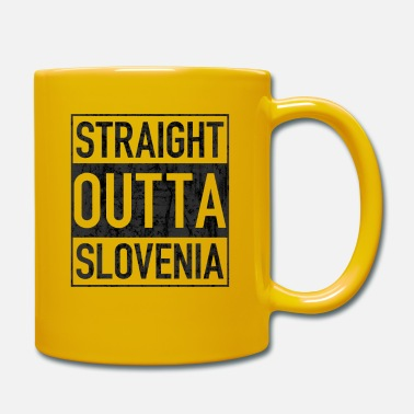 Gangsta Rap Straight Outta SLOVENIA - Mug