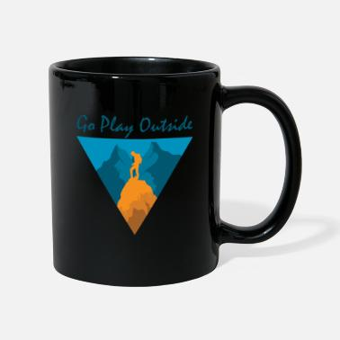 Bus Camping Backpacking Hiking Outdoor - Mug