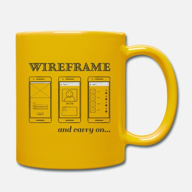 wireframing - Mug