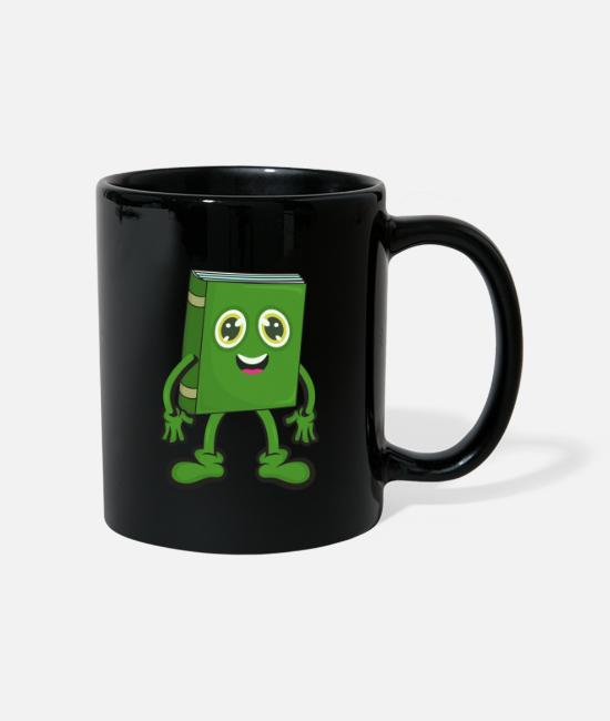 Read Mugs & Drinkware - Book reading comic - Mug black