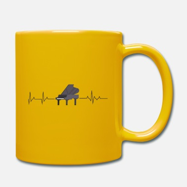Battement de coeur de piano - Mug