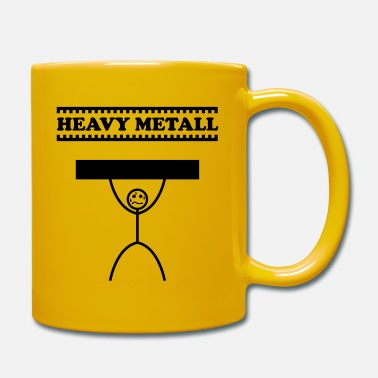 Heavy Heavy Metal / Heavy Metal / Heavy Metal - Tazza monocolore