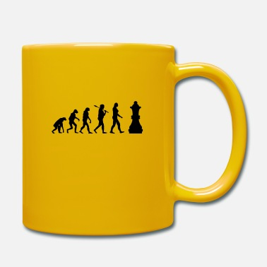 Chess Chess Evolution Chess Piece Gift - Mug