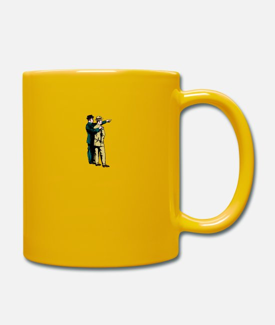 Father And Son Mugs & Drinkware - friends - Mug sun yellow