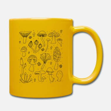 mushrooms - Full Colour Mug