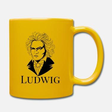 tazza divertente musica classica TAZZA mug Ludwig van Beethoven