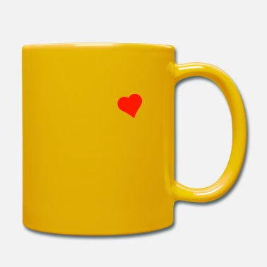 Fond Of Animals heart - Mug