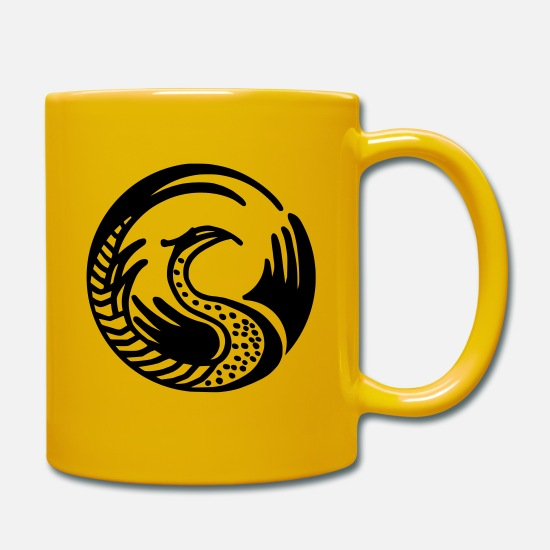 Mythical Creature Mugs & Drinkware - mythical creatures - Mug sun yellow