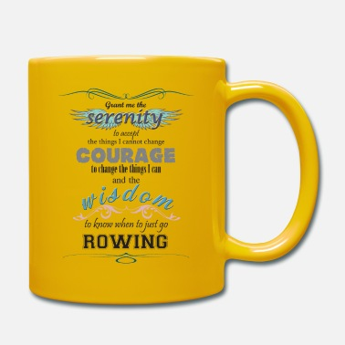 Scottish Coastal Rowing Association Serenity, Courage, Wisdom - Mug