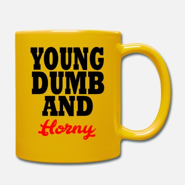Money young dumb and horny - Mug