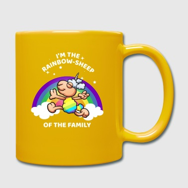 I Am The Rainbow Sheep Of The Family LGBT - Taza de un color