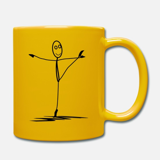 Ballet Mugs & Drinkware - ballet - Mug sun yellow