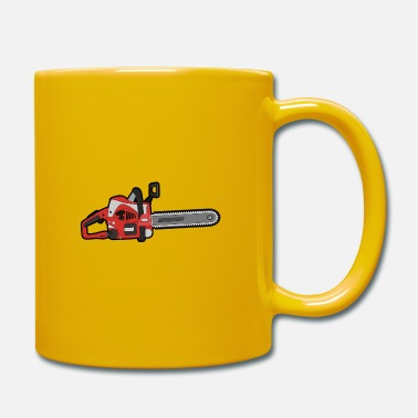 Stihl Chainsaw fishing mopet chainsaw Stihl gift - Mug
