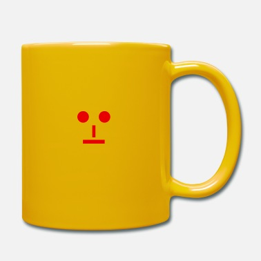 Neutral Neutral emoji - Mug