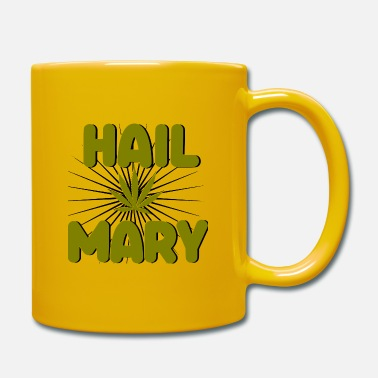 Smoking Hail Mary Jane Weed Cannabis 420 CBD Gift - Mug