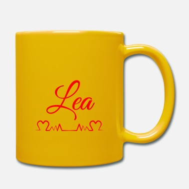 First Name lea, name, first name - Mug