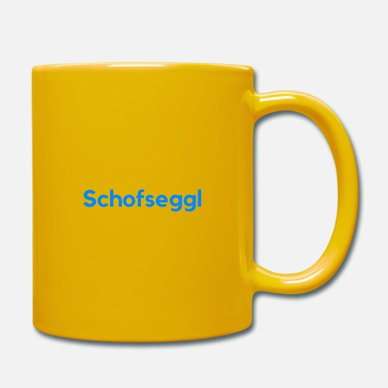 Gift Idea Mugs & Drinkware - Swabian saying Swabian dialect Swabian - Mug sun yellow