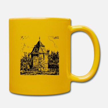Nordrhein Radevormwald historic garden house - home - Mug