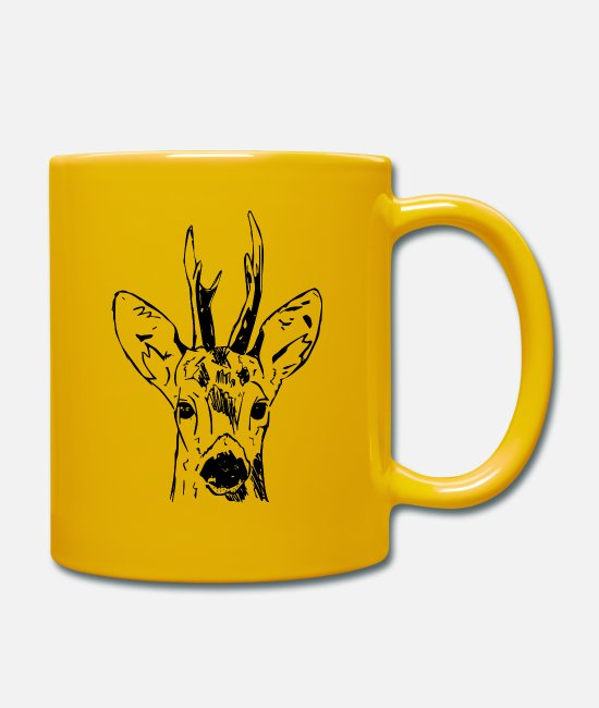 Stag Mugs & Drinkware - Ree - Mug sun yellow