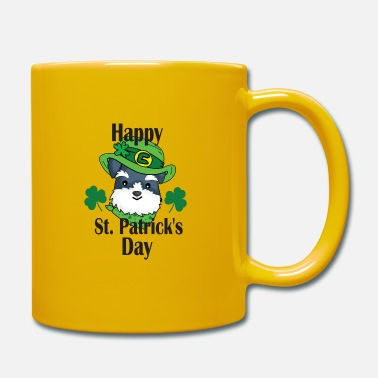 Irland Dabbing St Patricks Day Leprechaun Dog - Tasse