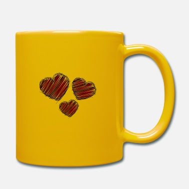 Renner Heart. Love. Love. Wedding. Valentine's Day. Party. - Mug