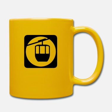 Car Cologne Cable Car icon - Mug