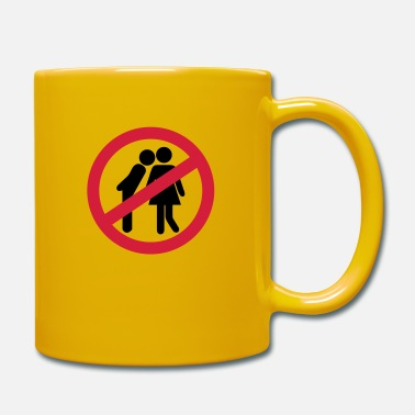 Kiss No Kisses - Taza