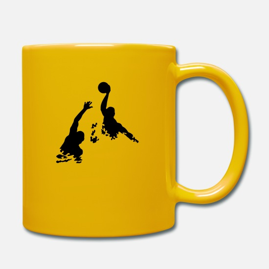 Waterpolo Mugs et récipients - waterpolo - Mug jaune soleil
