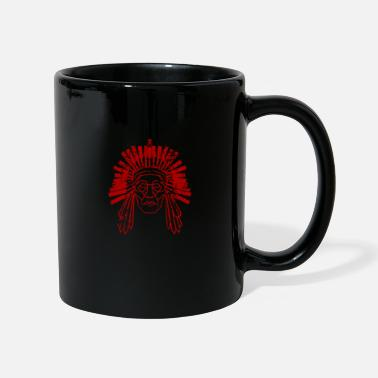 Indianer indian indianer haeuptling - Tasse