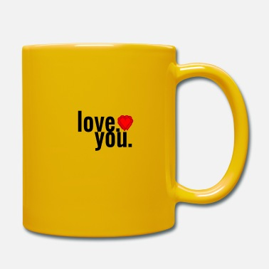 Love you - Tasse