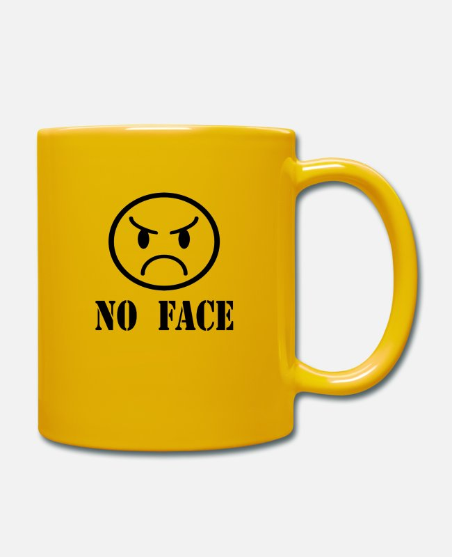 Husband Mugs & Drinkware - no face - Mug sun yellow