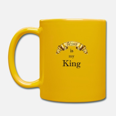 Jesus Jesus is my King - Mug