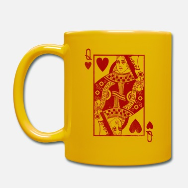 Queen Of Hearts queen of hearts - Full Colour Mug