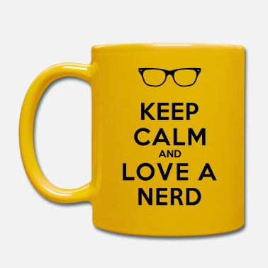 Nerd KEEP CALM AND LOVE A NERD - Kopp