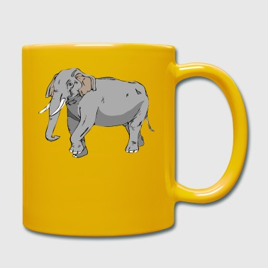 Big Elephant - Full Colour Mug