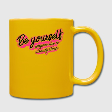 Be Yourself - Full Colour Mug