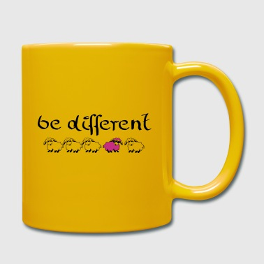 be different - Tasse einfarbig
