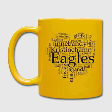 Eagles Svart text - Enfärgad mugg