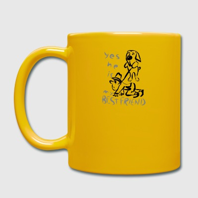 DOG LOVER - Tasse en couleur