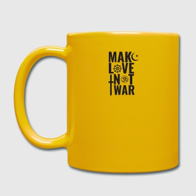 Make Love Not War - Tasse en couleur