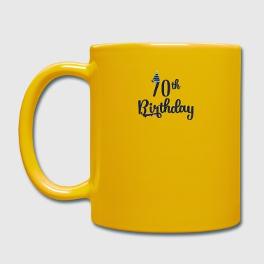 70th Birthday: 70th Birthday - Full Colour Mug