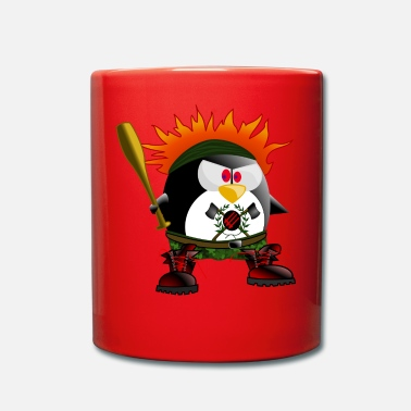 Rowdy Rowdy penguin - Full Colour Mug
