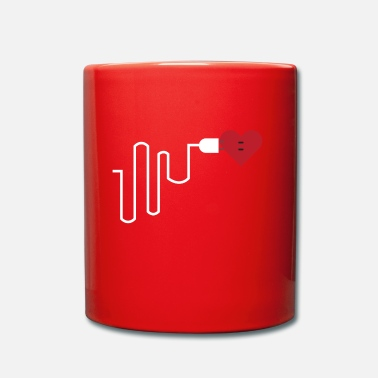 Meilleur Batterie partnerlook partenaire mobile BFF Love Part 2 - Mug uni